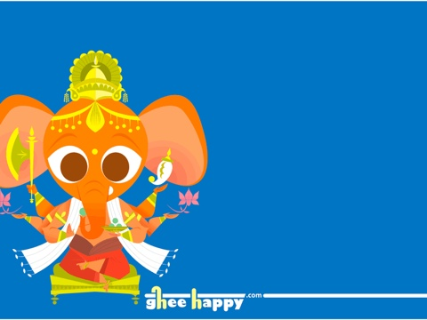 ganesha ghee happy!