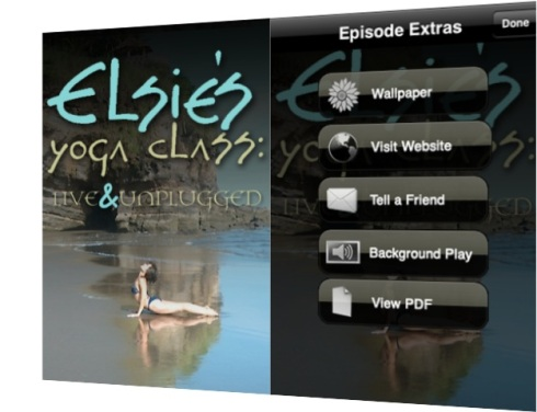 Elsie's Yoga Class Podcast iPhone App Artwork