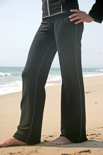 Organic Bambu and Cotton Green Apple Yoga Pant